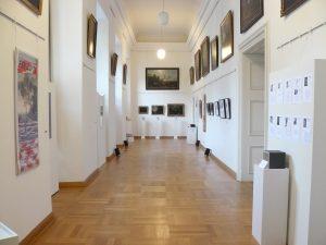 Blick in den Ausstellungsraum des Projekts FSK 2015